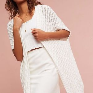 Open-Stitched Cardigan by Mo:Vint
